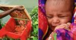 Barqueiro resgata bebê que boiava dentro de caixa em rio
