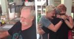Homem descobre irmãs e filha marca encontro emocionante entre eles