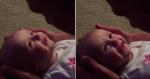 Bebê tem reação emocionante ao ouvir pai cantar