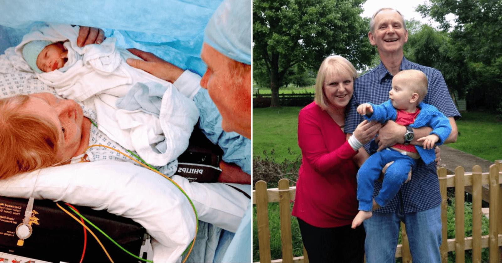 Aos 48 anos e após 18 abortos espontâneos, mulher dá à luz