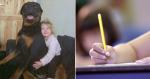 """Menina manda carta para Deus após morte de cachorro e recebe """"resposta"""""""