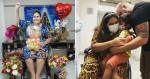 Carreata comemora alta de amiga após 44 dias internada com Covid