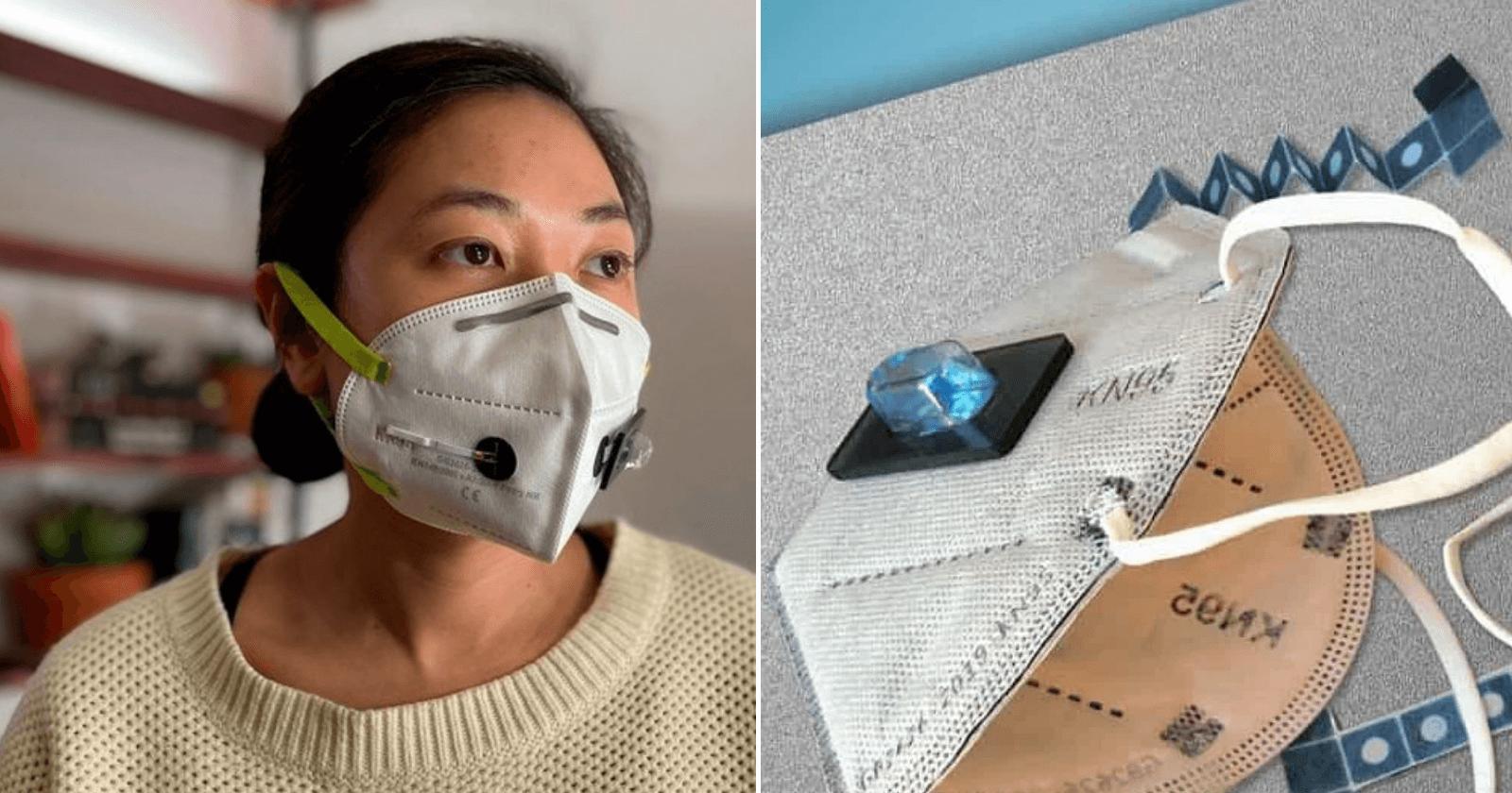 Cientistas desenvolvem máscara que detecta a Covid-19