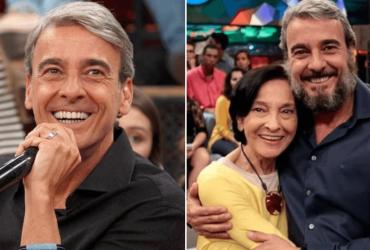 Ator Alexandre Borges deixa TV para ficar com a mãe que tem Alzheimer
