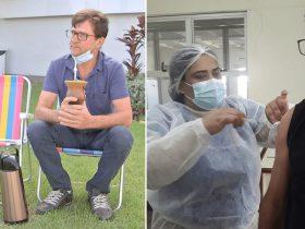 Prefeitura manda vacina para marido com esposa internada em hospital de cidade vizinha