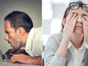 Se você trabalha no COMPUTADOR, precisa fazer ISSO com seus olhos