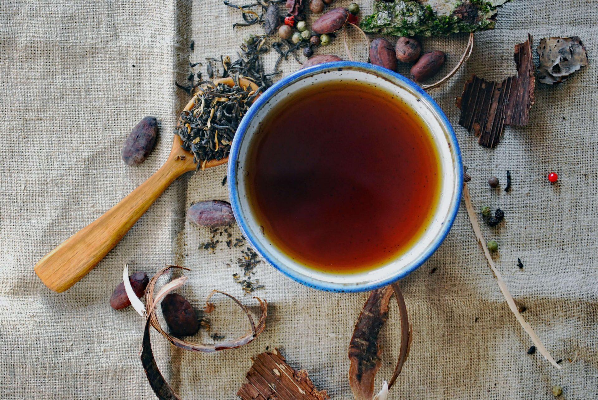 chá-erva-doce