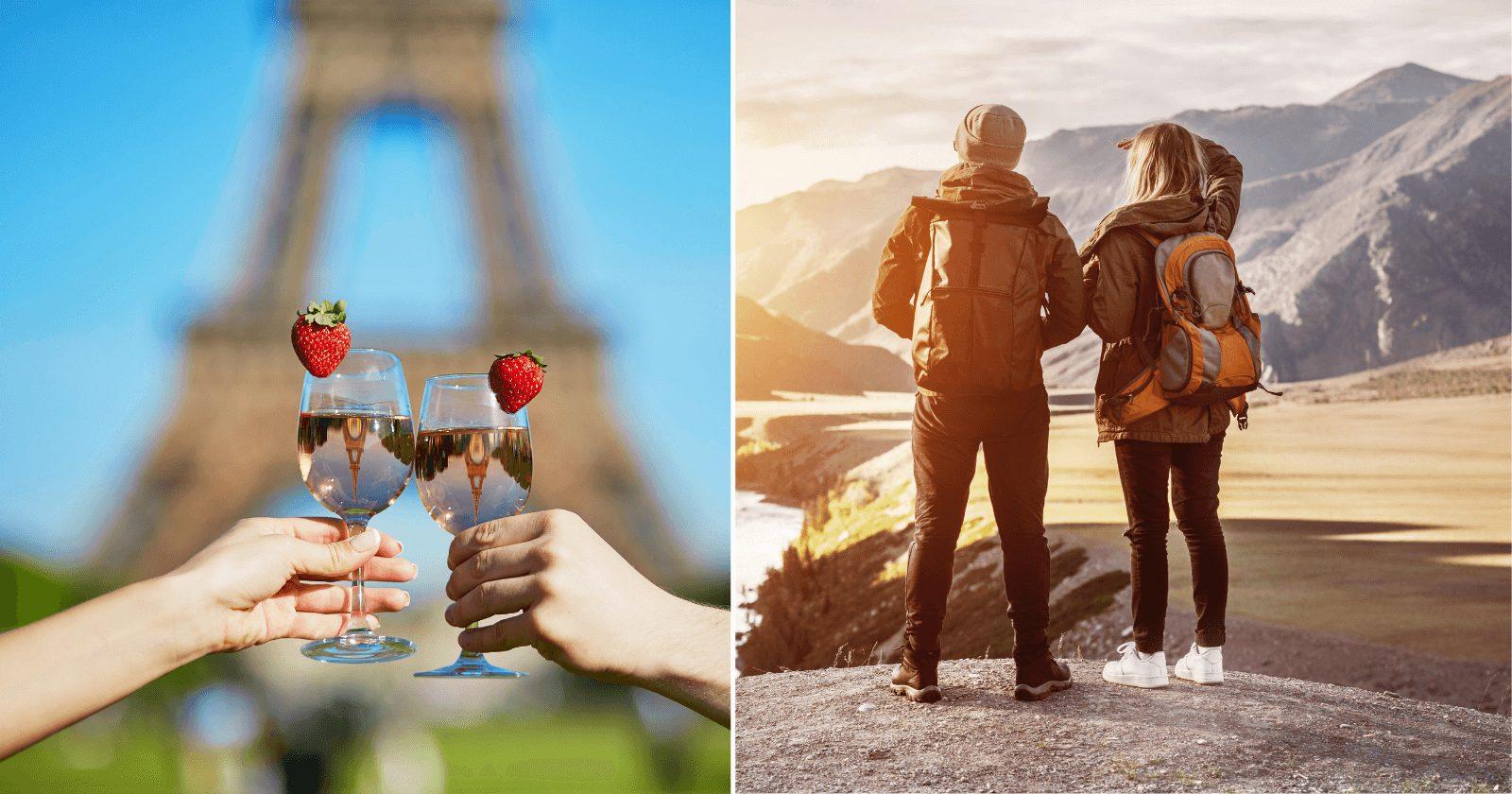 40 destinos ROMÂNTICOS para viajar a dois. Corre aqui, casal!