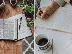 Crie um caderno DEVOCIONAL e tenha momentos mais íntimos