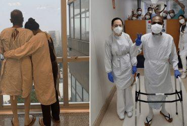 Homem que teve pulmão transplantado por causa da Covid recebe alta