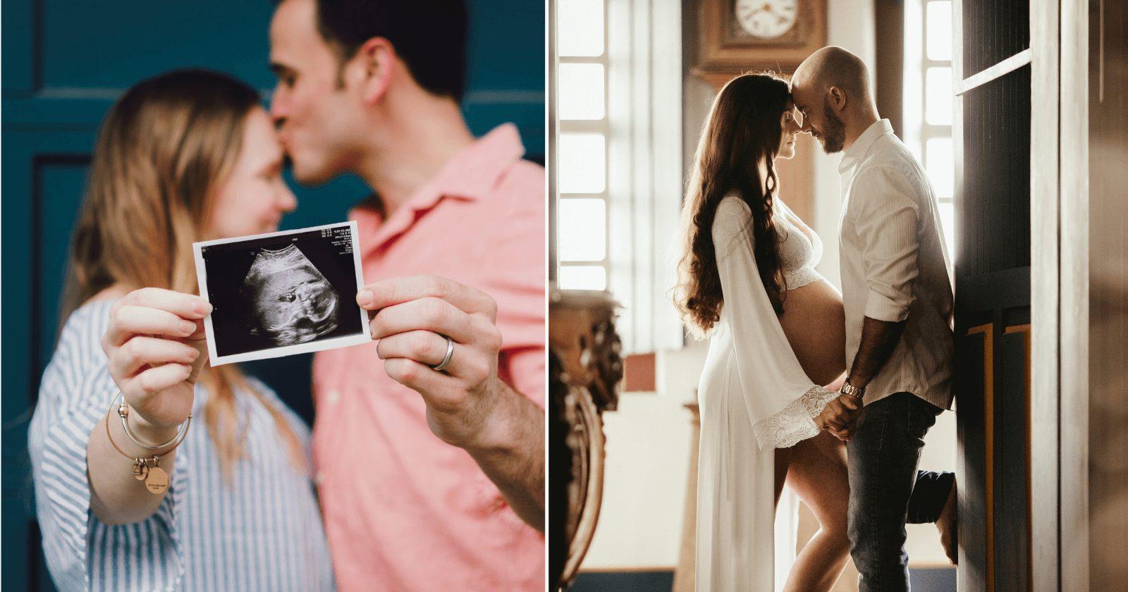 95 legendas para foto grávida com o pai que são FOFAS demais