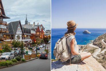 14 destinos brasileiros IDEAIS apenas para relaxar e desestressar