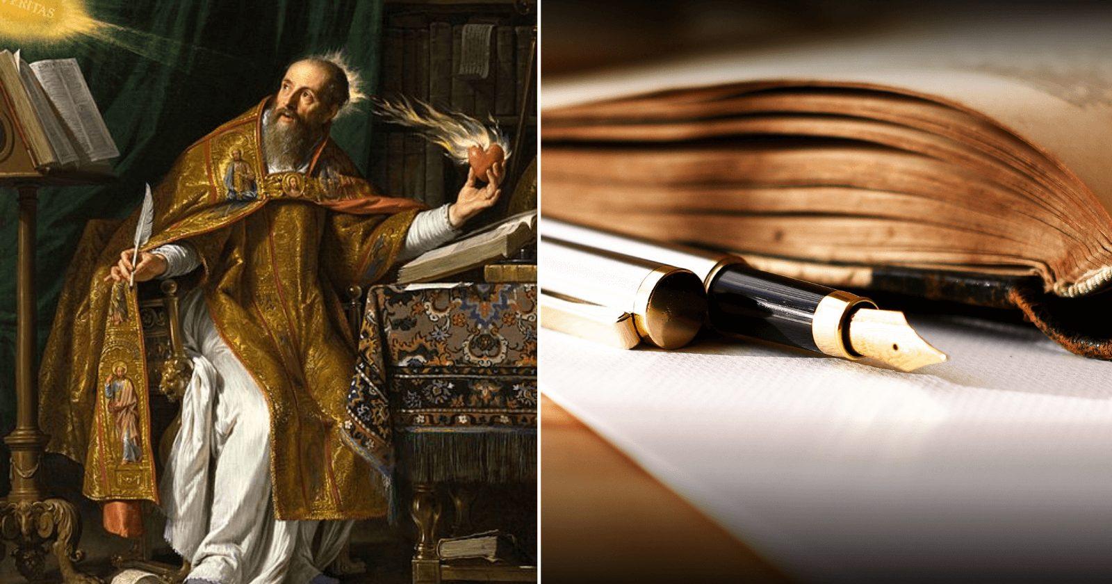 81 frases Santo Agostinho para te trazer lições importantes