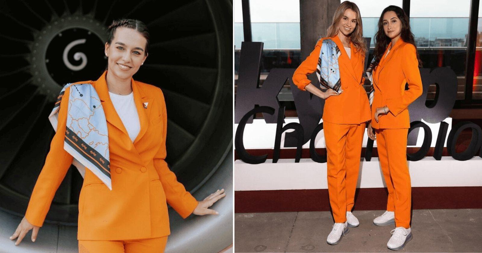 Companhia aérea quebra padrão e cria uniforme confortável para comissárias